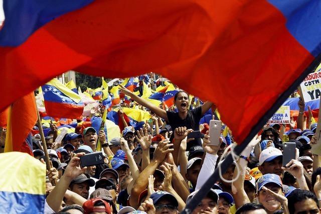 Berlin wünscht eine Neuwahl in Venezuela