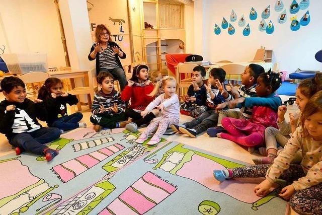 Der Kindergarten St. Martin bezieht sein neues Quartier