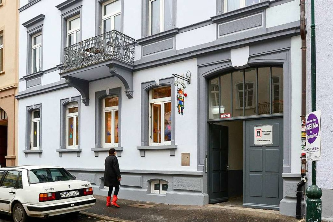 Der Kindergarten St. Martin ist aus de...lmstraße in die Sedanstraße umgezogen.    Foto: Ingo Schneider