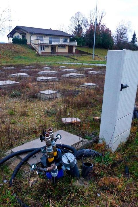 Auf dem ehemaligen Sportgelände in Nor...ielleicht ein Gewerbegebiet entstehen.  | Foto: Andrea Gallien