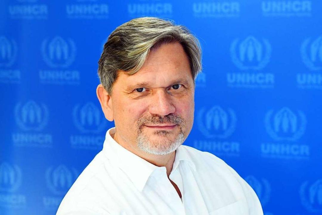 Dominik Bartsch ist Repräsentant des U...lingskommissar der Vereinten Nationen.  | Foto: Maurizio Gambarini