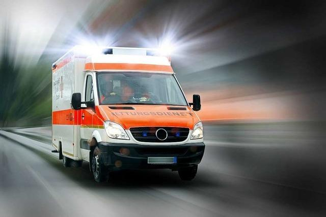 Transporterfahrer bestreitet, Rettungswagen behindert zu haben