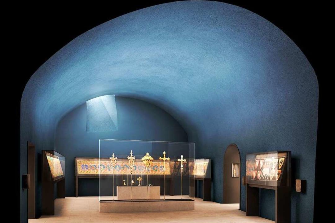 Die Ausstellungsvitrinen im Augustinermuseum sind komplexe Maschinen.  | Foto: Augustinermuseum