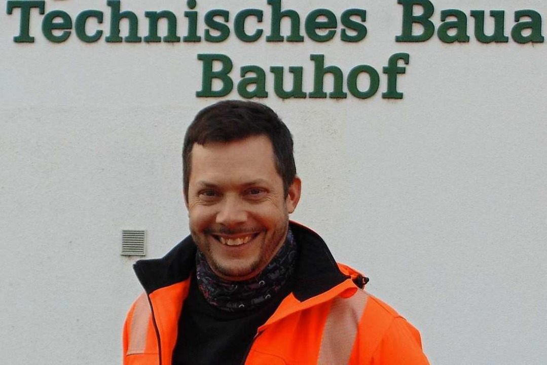 Seit Oktober 2018  kaufmännischer Betr...r des  Bauhofs: Kurt-Benjamin Hansmann    Foto: Michael Gottstein