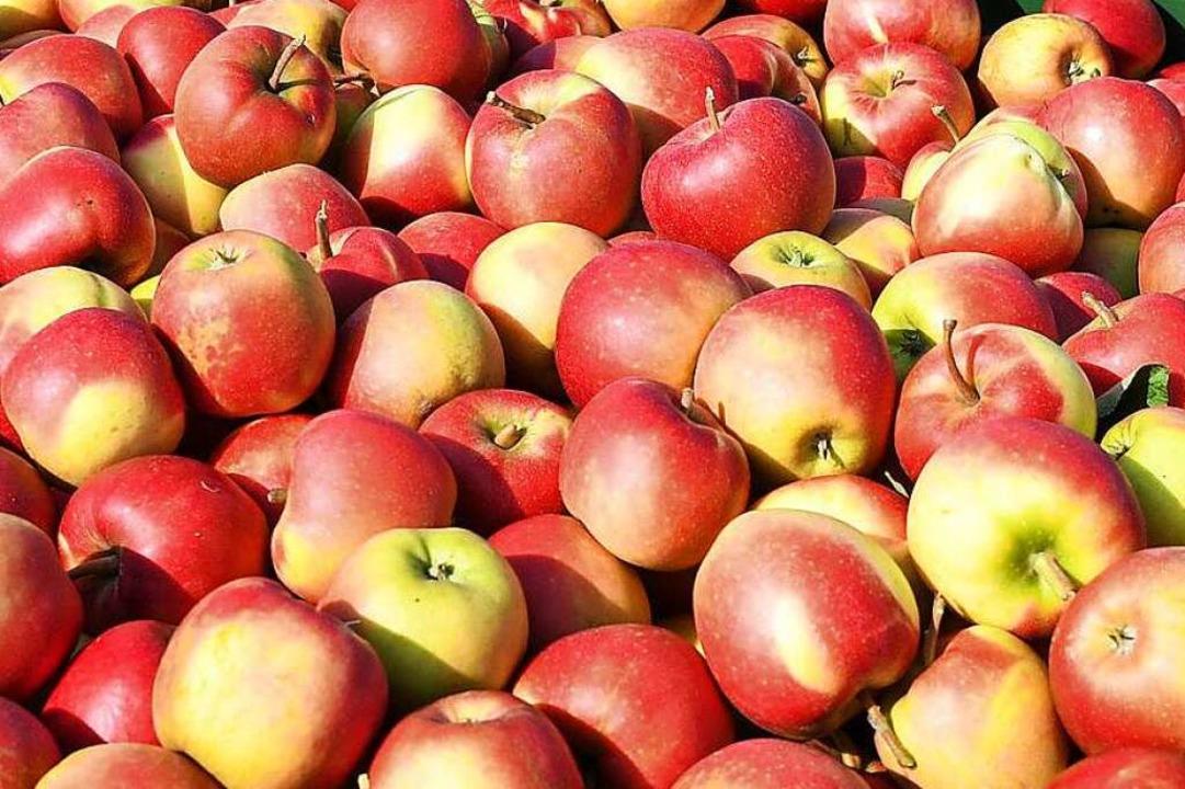 Mjam, Äpfel.    Foto: dpa
