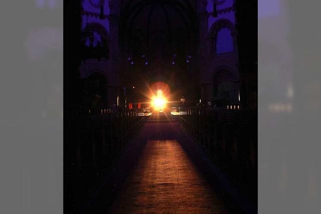 Von Freitag an gibt's in der Johanneskirche Klang- und Lichtkunst