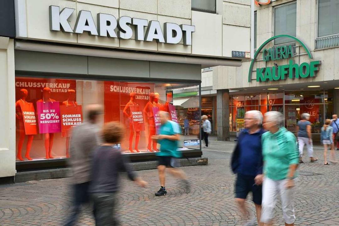 Die Holding von Karstadt und Kaufhof befindet sich in einer Krise.    Foto: dpa