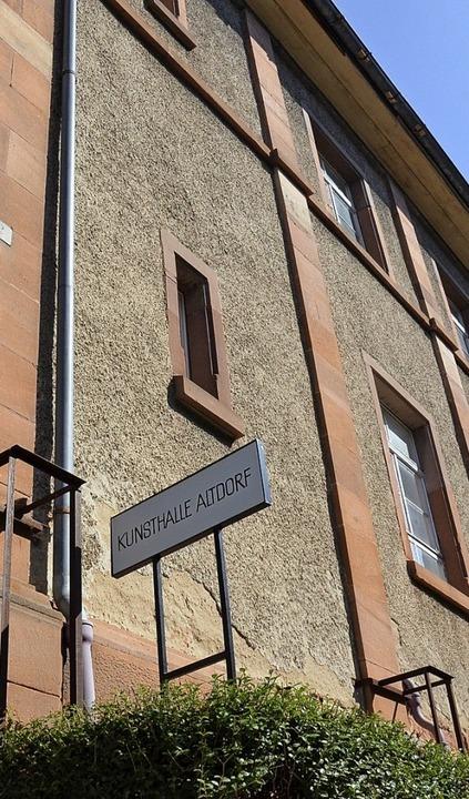 Sanierungsfall: Die Außenfassade der e...igen Synagoge und heutiger Kunsthalle.  | Foto: ARCHIVFOTO:  KOvacs