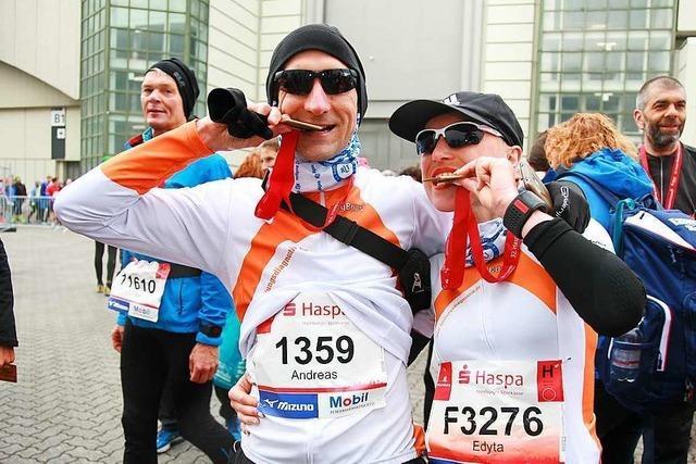 Diese Lörracher laufen Marathon auf allen sieben Kontinenten
