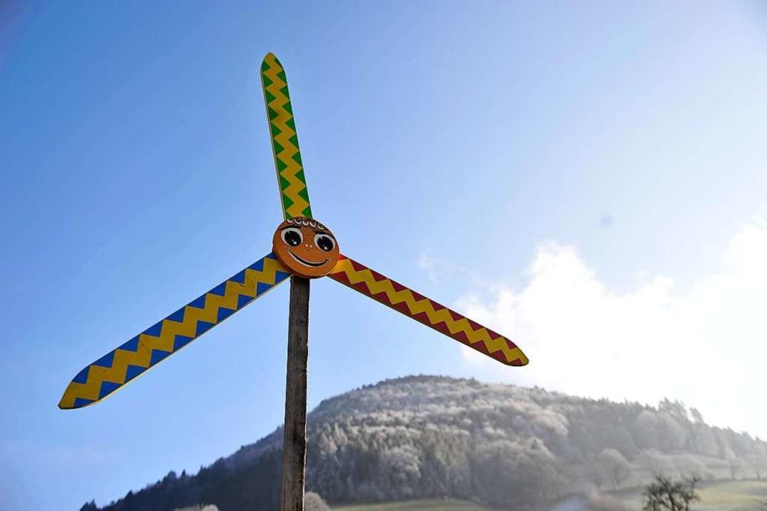In Münstertal wurde per Bürgerbegehren...über geplante Windräder herbeigeführt.  | Foto: Hans-Peter Müller