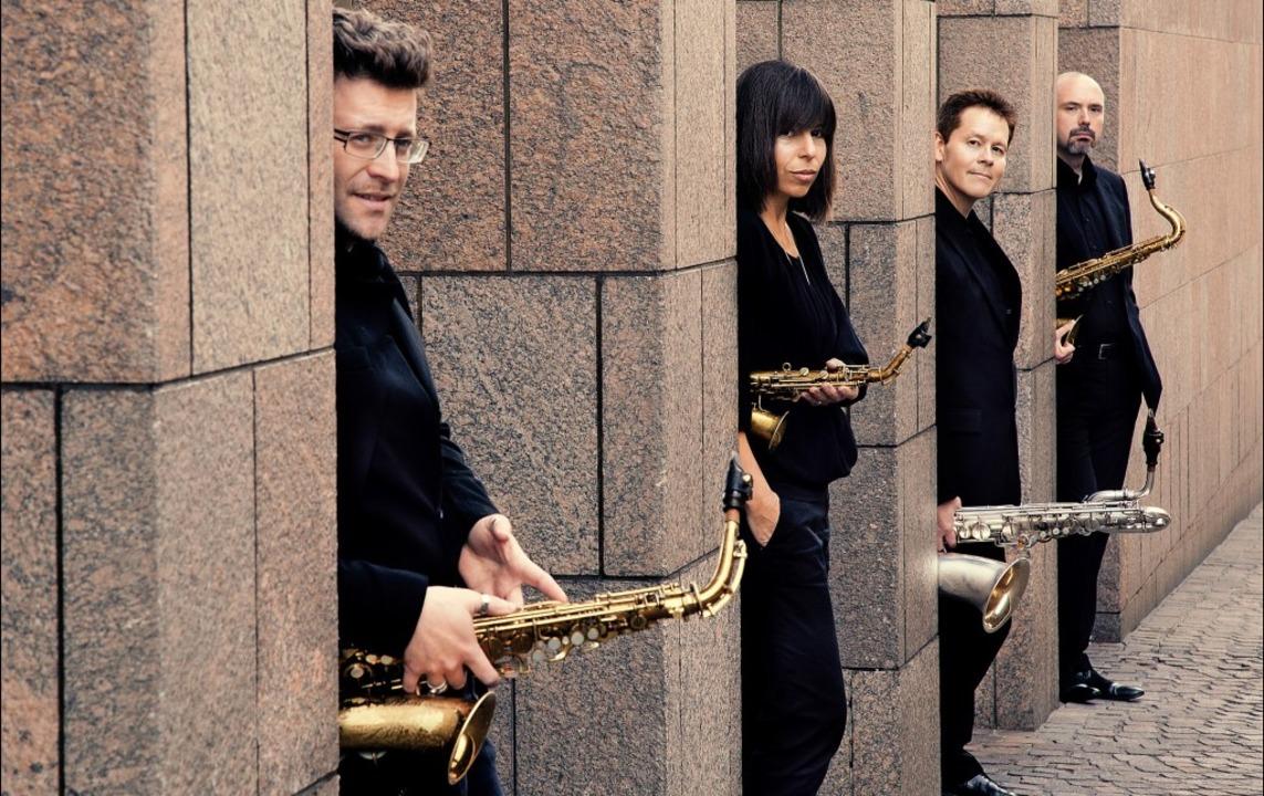Balance als wichtiges Gestaltungsmittel: das Raschèr Saxophone Quartet   | Foto: Felix Broede