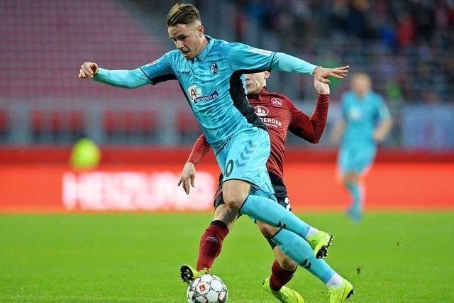 Christian Günter wird gegen Hoffenheim wohl spielen können