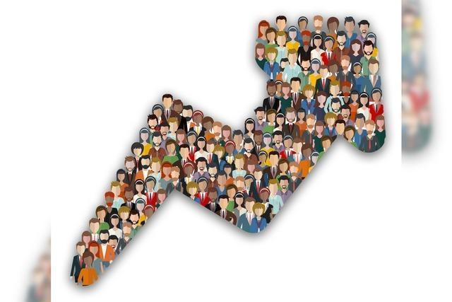 Die Bevölkerung wächst
