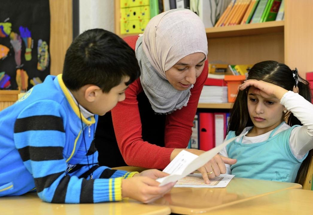 Islamunterricht an einer Freiburger Schule    Foto: Ingo Schneider