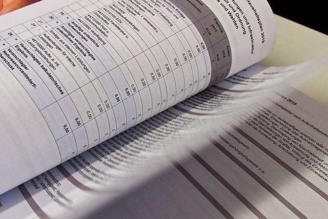 Die Gemeinde Kirchzarten hat den Haushaltsplan 2019 verabschiedet