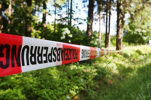 Vermisster Mann aus Waldshut-Tiengen wird tot am Rande eines Waldstückes entdeckt