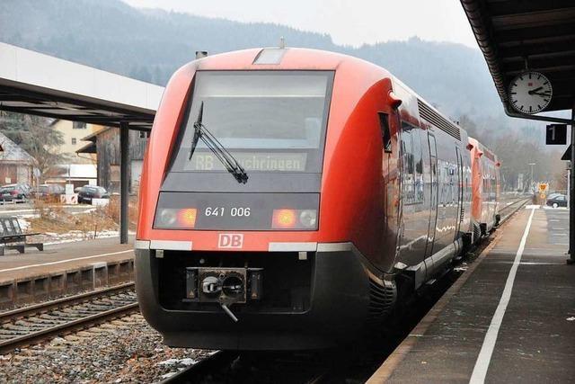 Die Hochrheinstrecke soll von 2025 bis 2027 ausgebaut werden