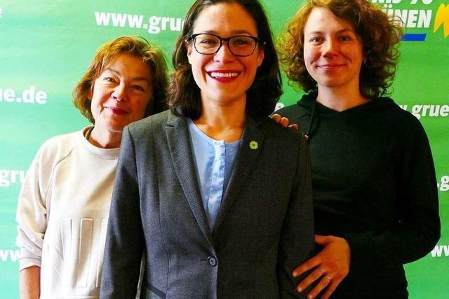 Freiburger Grüne wählen Nadyne Saint-Cast zu ihrer neuen Spitzenkandidatin