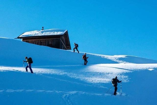 So lässt es sich im Steiermarker Gesäuse sicher durch den Schnee stapfen