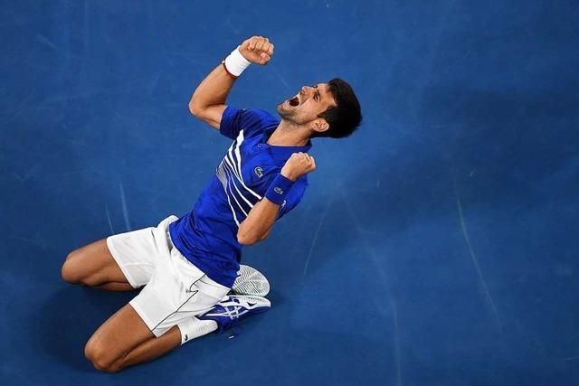 Djokovic deklassiert Nadal mit 3:0 und gewinnt Australien Open