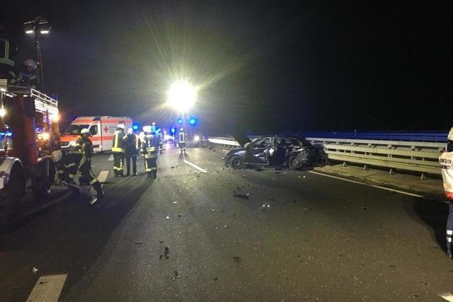 25-Jähriger stirbt bei Unfall auf der B 294 bei Waldkirch