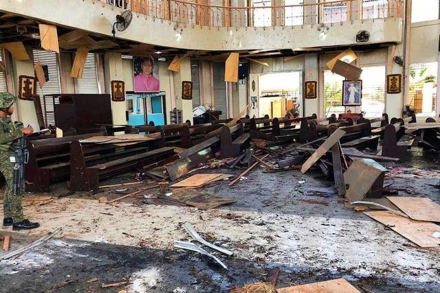 27 Tote auf den Philippinen durch Explosionen bei katholischem Gottesdienst