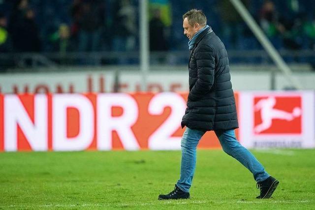 Hannover 96 entlässt Trainer André Breitenreiter