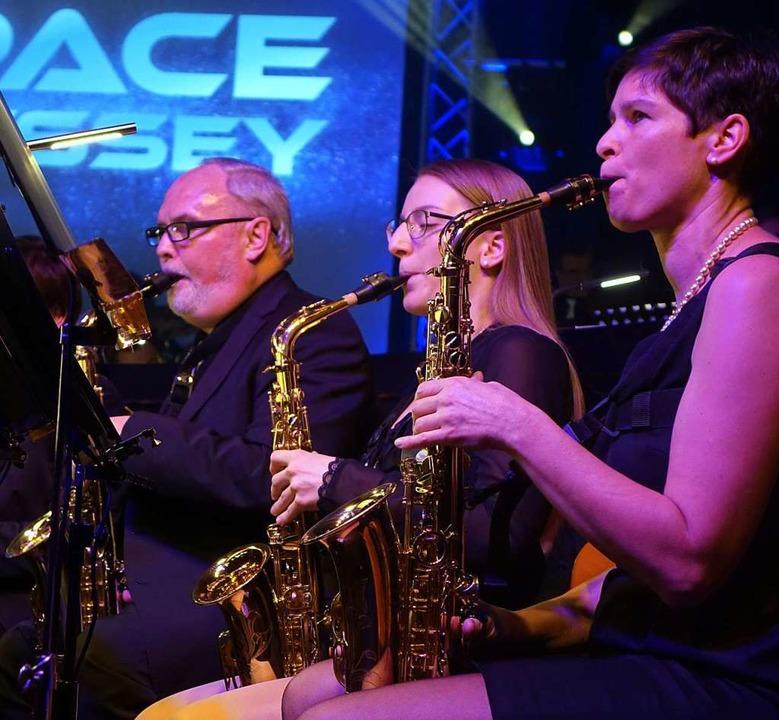 """Space Odyssey"" mit dem Musikverein Wollbach  | Foto: Roswitha Frey"