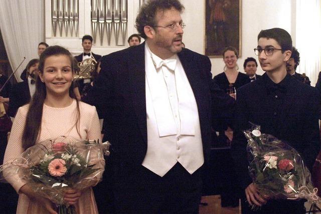 Zwei junge Ausnahmesolisten begeistern das Publikum