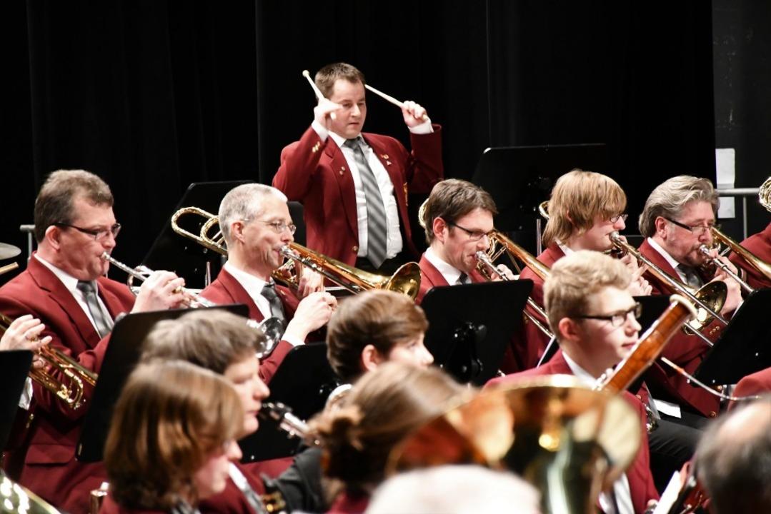 Jahreskonzert der Stadtmusik Lörrach  | Foto: Barbara Ruda