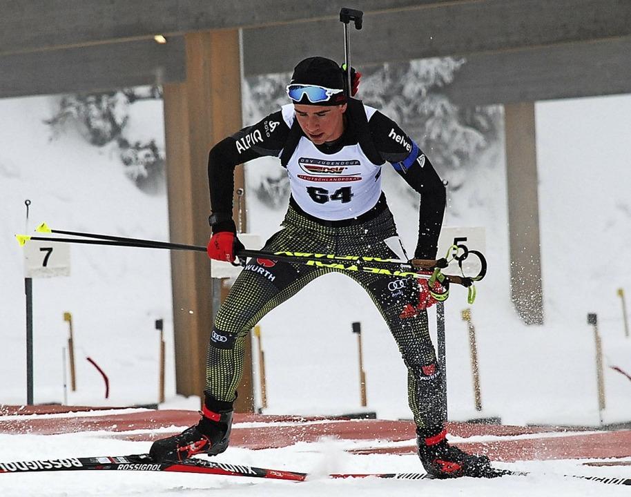 Der Bonndorfer Christian Krasman, am N...e Jugend-Olympiafestival qualifiziert.  | Foto: ruoff