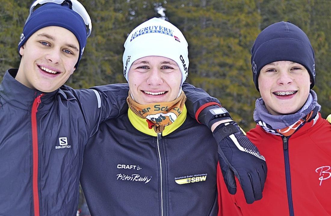 Schwarzwaldschülermeister im Staffel-R...r und Luca Wehrle vom SC Hinterzarten.