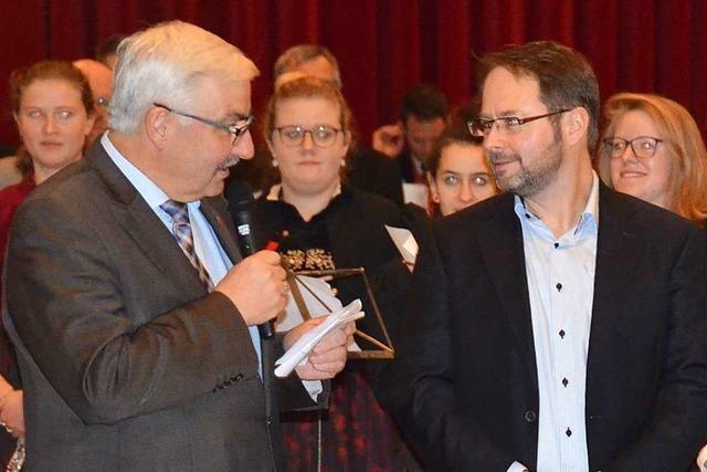 Stephan Bücheler ist neuer Bürgermeister von Dachsberg