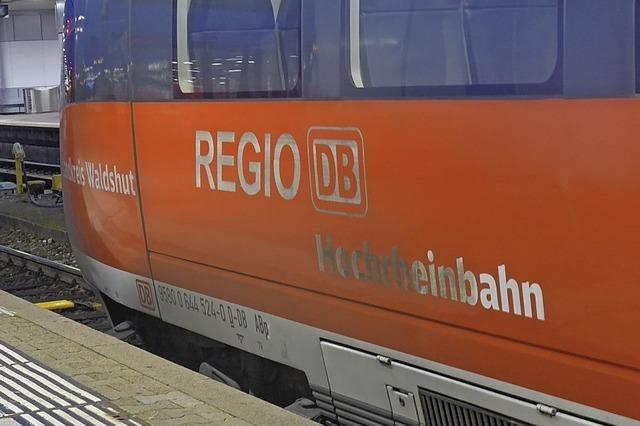 Bahnausbau am Hochrhein in einem Zug