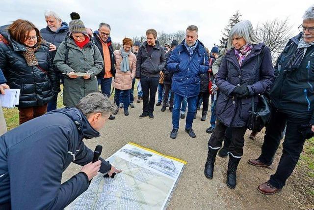 BZ-Leser nutzen Chance zur geführten Ortsbegehung in Dietenbach