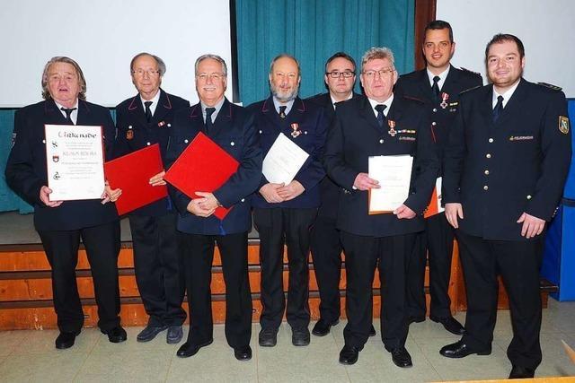 Rekordzahl an Einsätzen für die Feuerwehr Bad Säckingen
