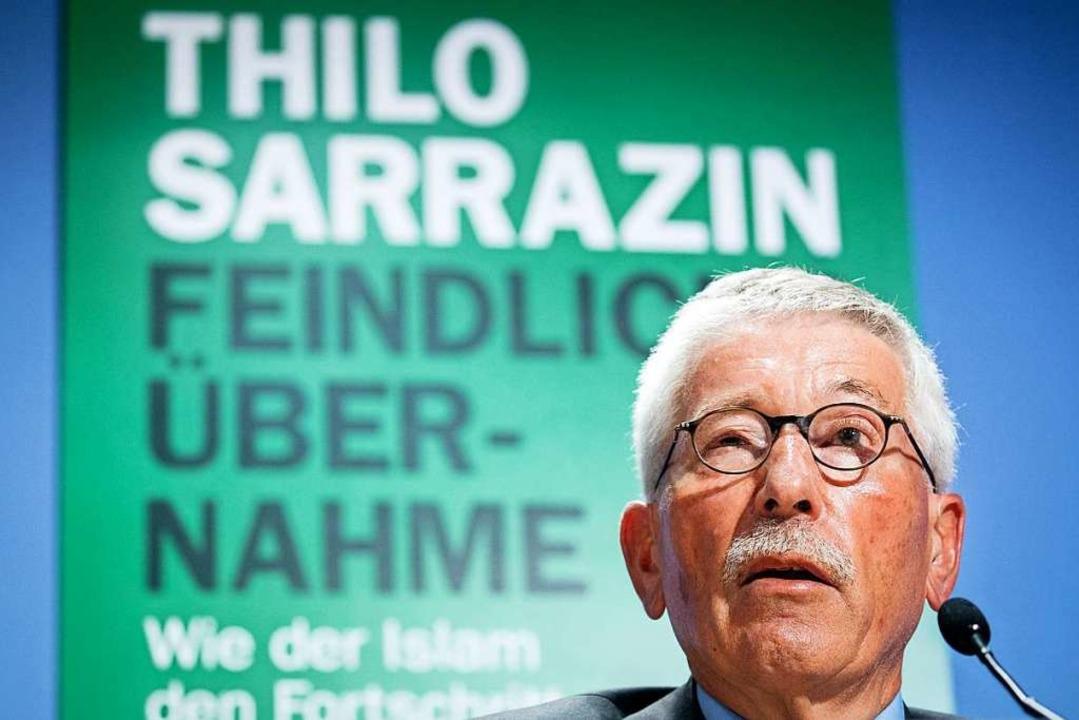Thilo Sarrazin    Foto: dpa