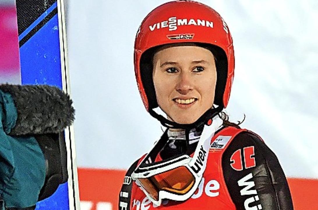 Weltklassespringerin: Ramona Straub    | Foto: scheu