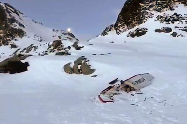 Ein Freiburger ist unter den Toten der Kollision von Helikopter und Kleinflugzeug im Aosta-Tal