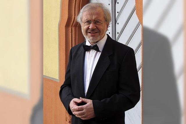 Bariton Bernd Walter singt die Winterreise von Franz Schubert