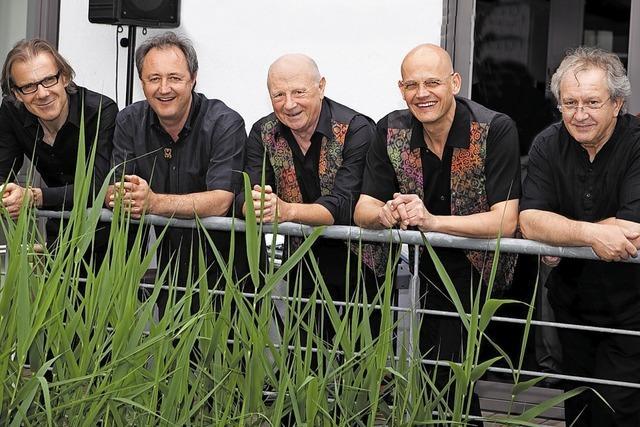 Papa Klaus und die Dixie-Jazzmen spielen im Salmen Offenburg