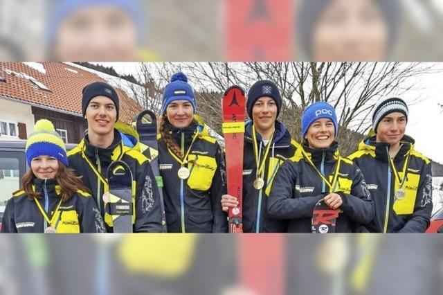 Schülerrennläufer kämpfen im Allgäu um Landestitel