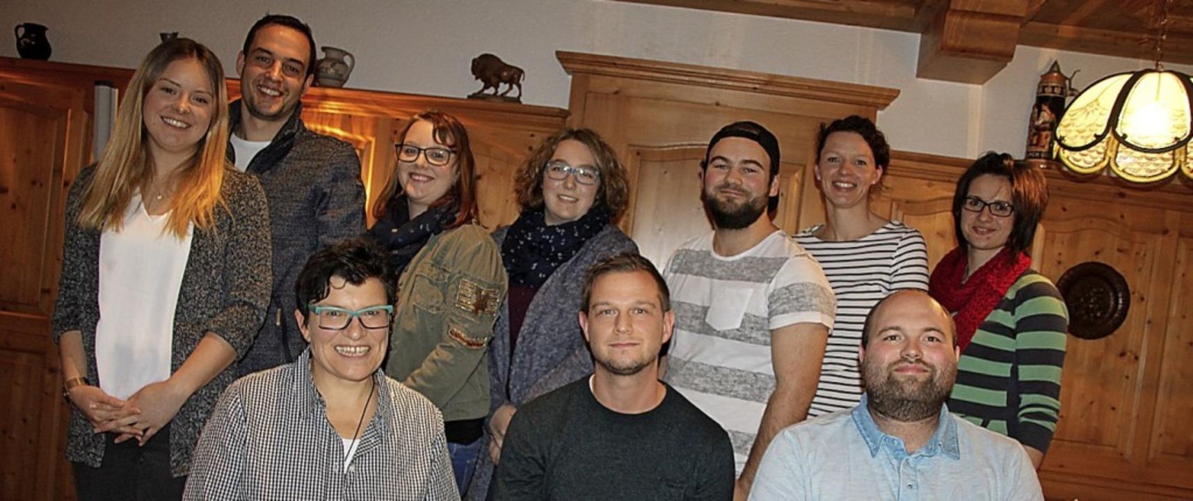 Vorsitzende Gudrun Heer (vorne, von li... Kech, Susanne Amann und Silvana Ebi.   | Foto: Yvonne Würth