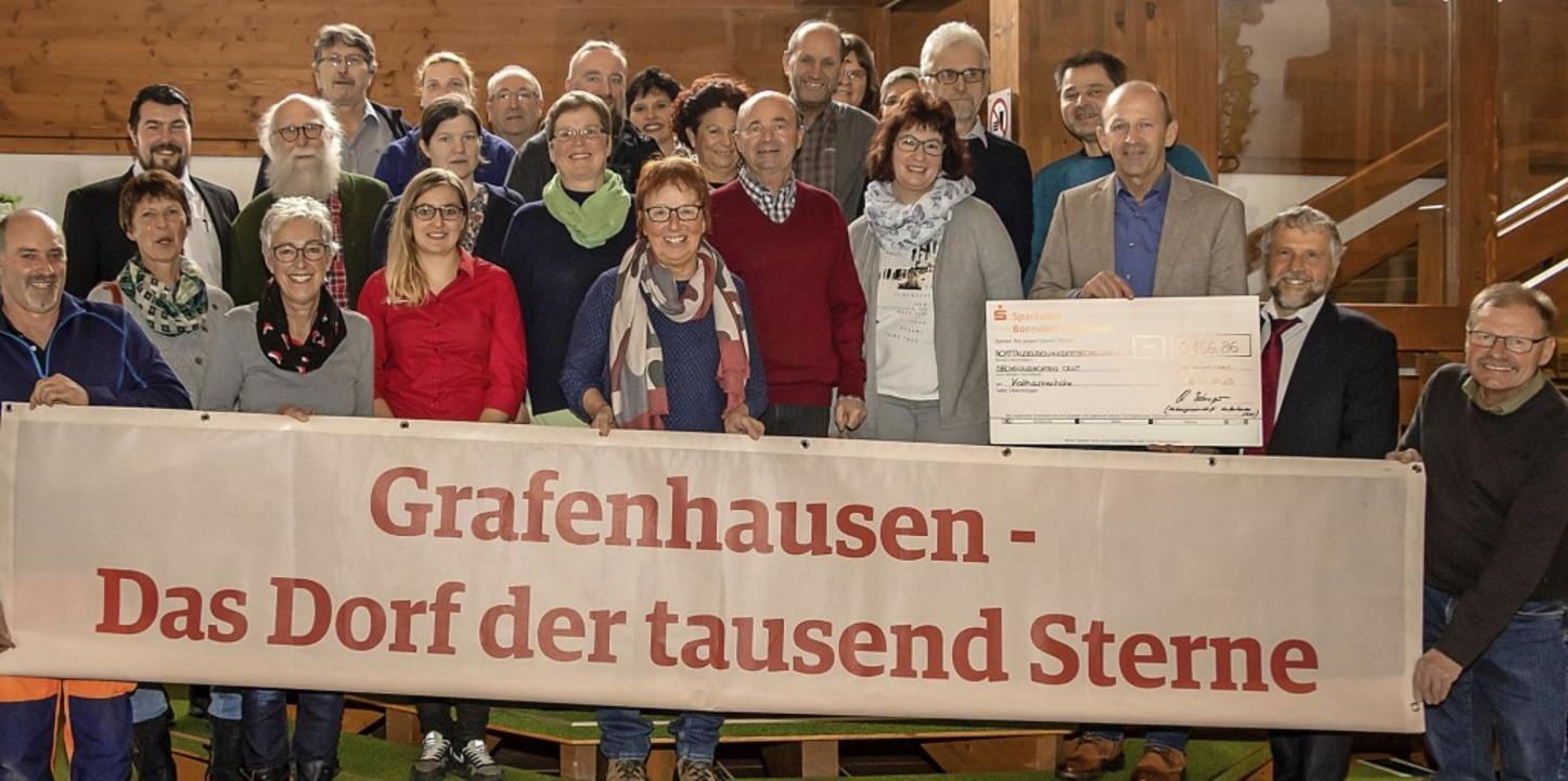 Im Rahmen einer Feierstunde im Schwarz...Rehabilitationsklinik Katharinenhöhe.     Foto: Wilfried Dieckmann