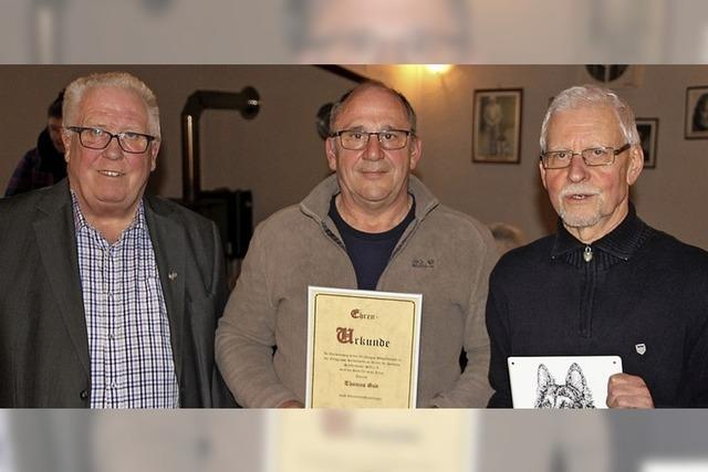 Waldemar Weber ist Ehrenmitglied