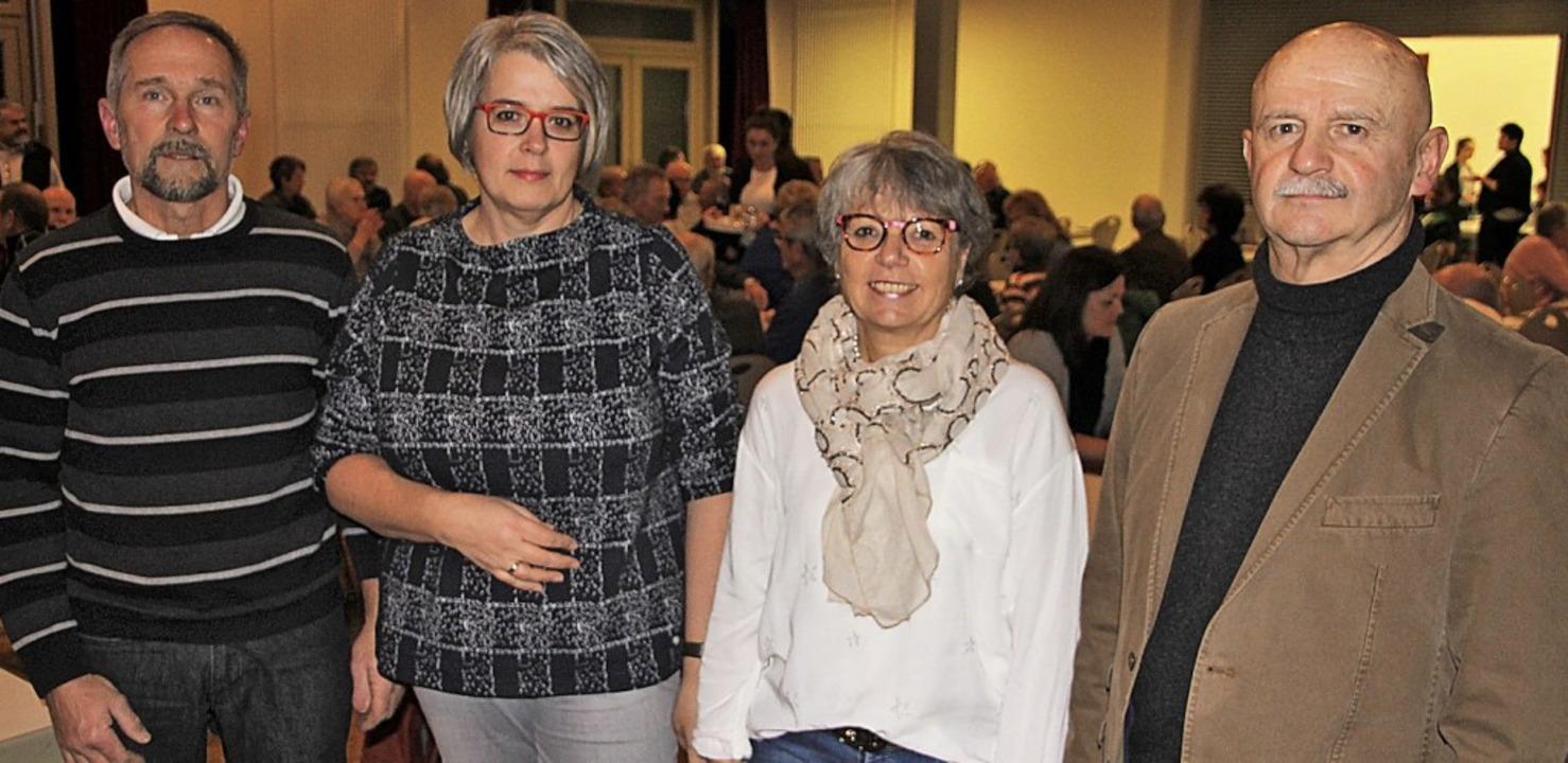 Das Vorstandsteam: Hans Schandelmeyer ...r, Carmen Günther und Karl Mattmüller     Foto: Werner Schnabl