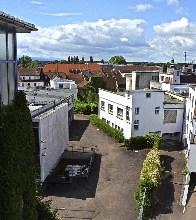 Neubauprojekt als Ersatz für das Kaufh...om  Parkhaus auf das Wehrle-Werk-Areal  | Foto: Gerhard Walser