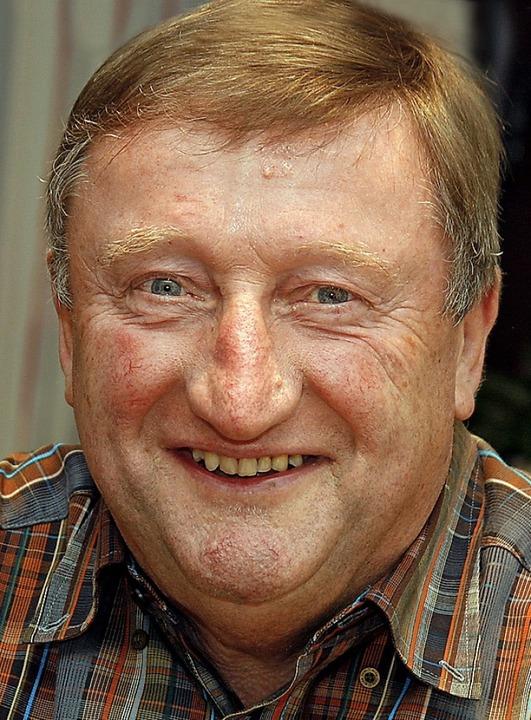 Manfred Dörner an seinem 70. Geburtstag 2012.     Foto: Heidi Fössel