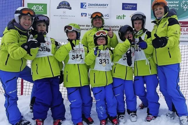 Medaillen bei den Special Olympics