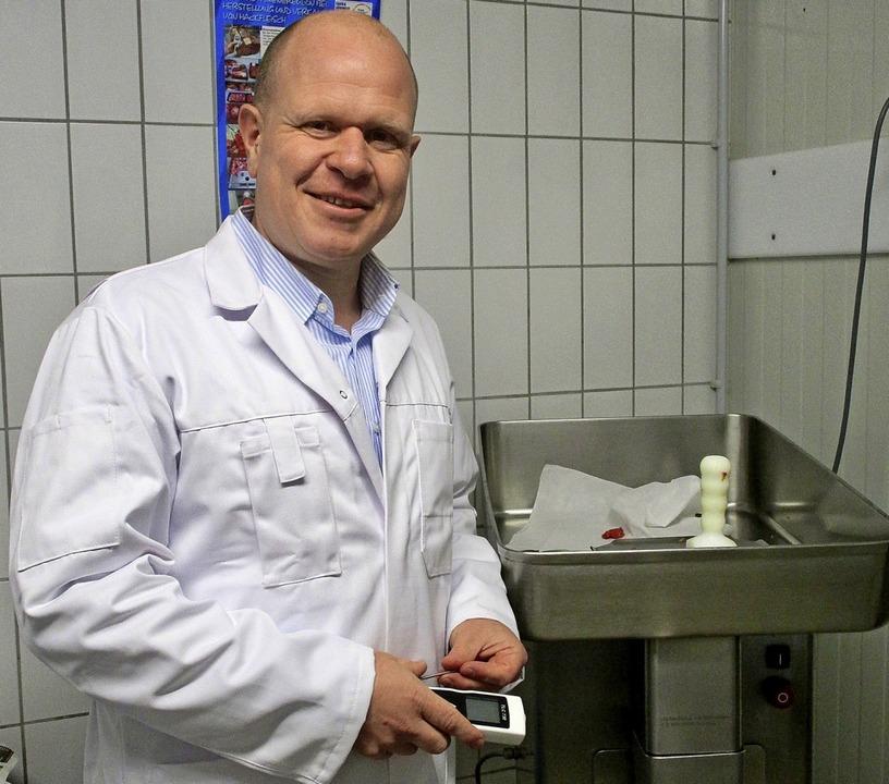 Andreas Metzler berät lebensmittelvera...ril auch im Internet veröffentlicht.      Foto: Privat